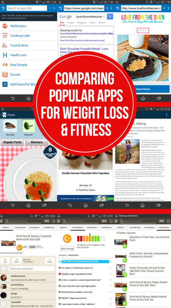 Comparing Popular Apps For Weight Loss And Fitness