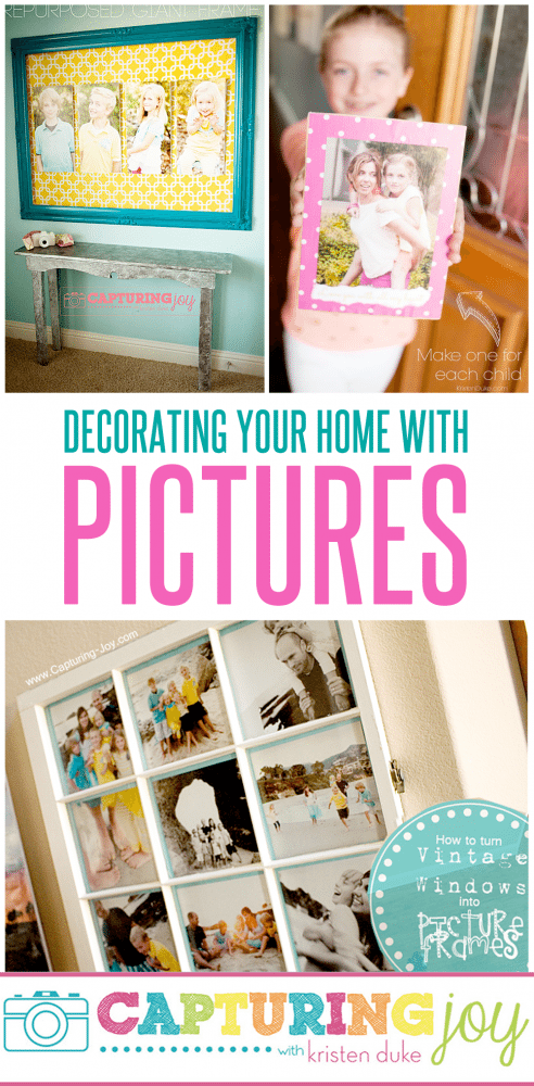 Decorating Your Home With Pictures Of Your Family