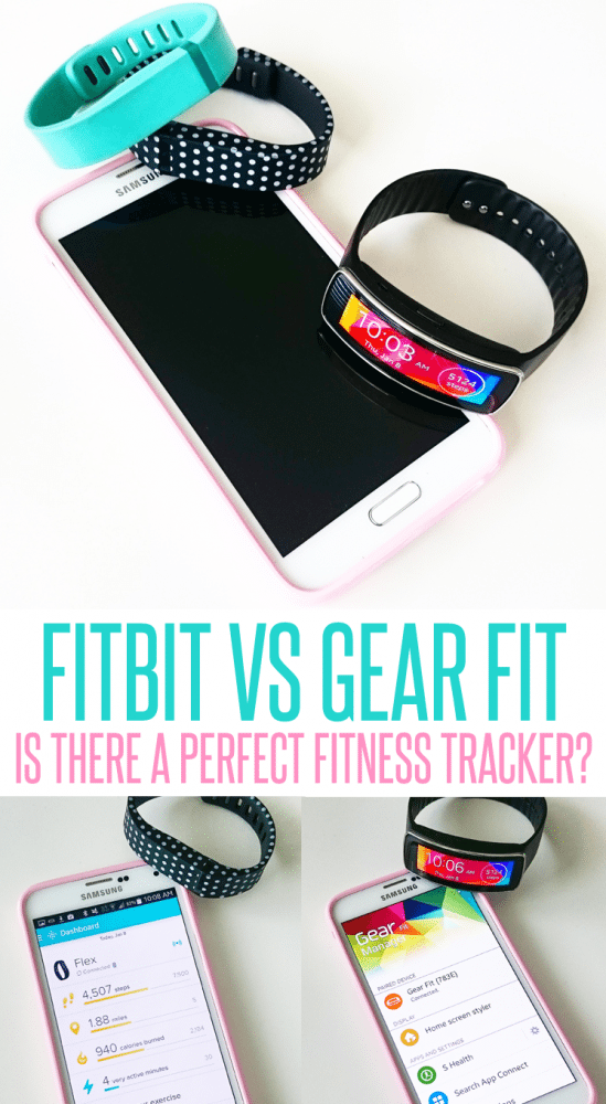 Fitbit Vs Samsung Gear Fit. Is there a perfect fitness tracker?