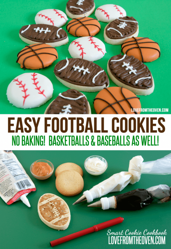 Easy Football Cookie Recipe