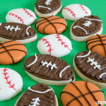 Football Cookies by Love From The Oven from the cookbook Smart Cookie