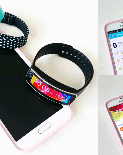 Fitbit Flex vs Samsung Gear Fit