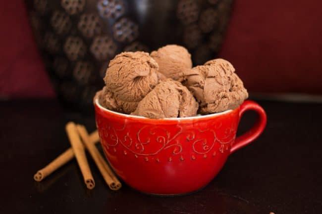 Mexican Chocolate Ice Cream