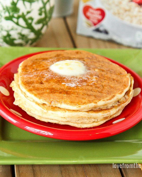 Oatmeal Packet Pancakes