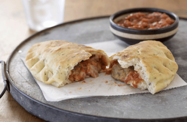 Meatabll calzone