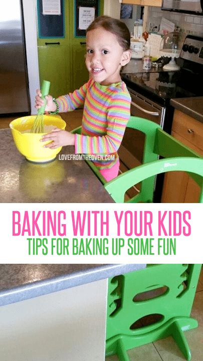 Tips for baking with your kids