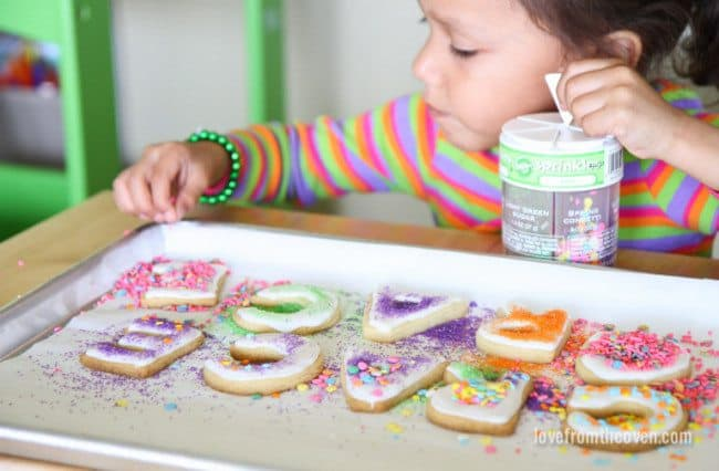 Decorating Cookies With Kids