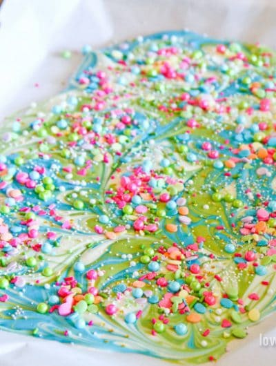 Katherine Sabbath inspired crazy chocolate bark