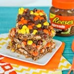 Chocolate Peanut Butter Magic Cookie Bars