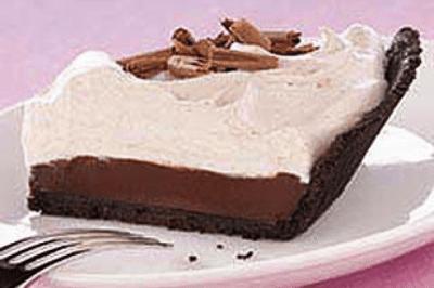 Mocha Truffle Pie