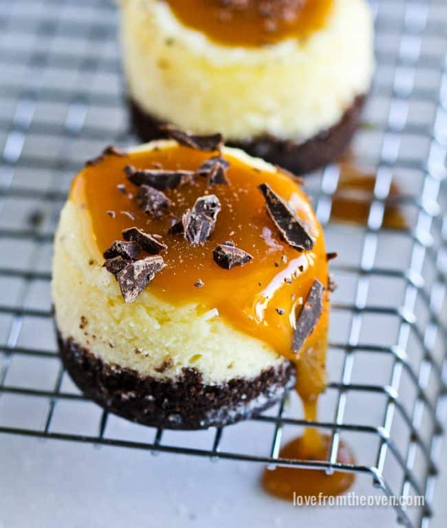Cheesecake Minis | New Year's Eve Recipes To Serve At Your Cocktail Party | New Year's Eve Recipes