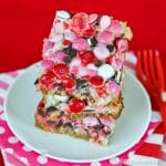 Valentine Magic Cookie Bars