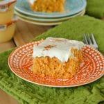 Lightened Up Carrot Cake