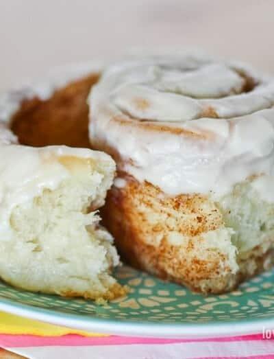 Make Ahead Cinnamon Rolls Recipe #cinnamonrolls