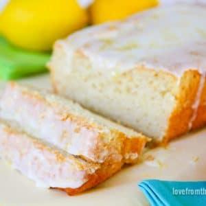 Iced Lemon Loaf