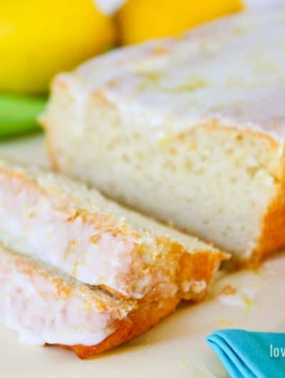 Iced Lemon Loaf