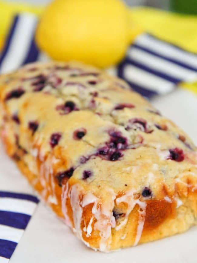Lemon Blueberry Loaf Recipe