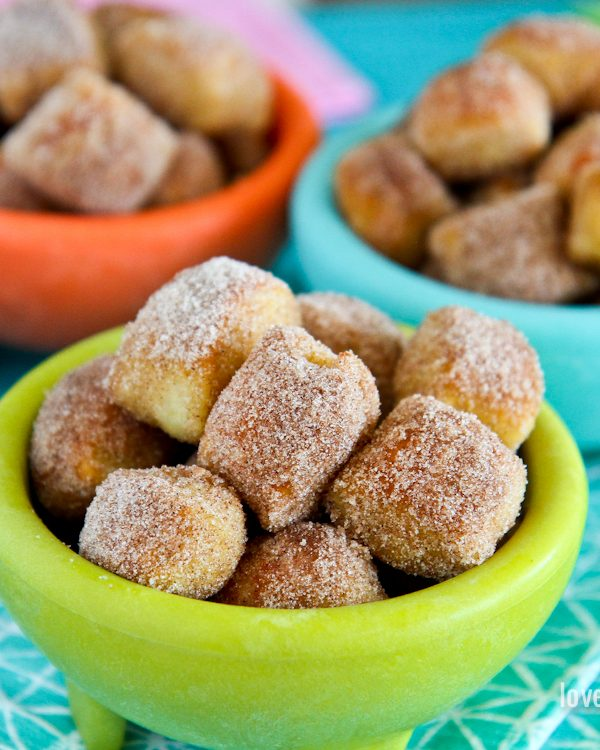 Cinnamon Sugar Pretzel Bites