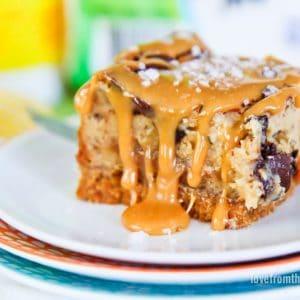 Caramel Cheesecake Bars