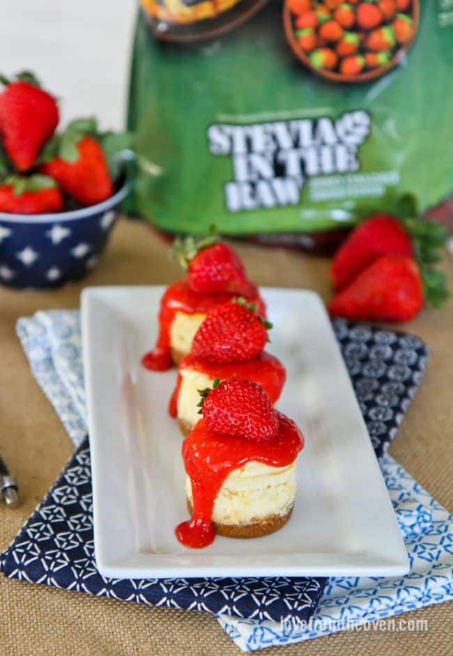 Cheesecake Made With Stevia