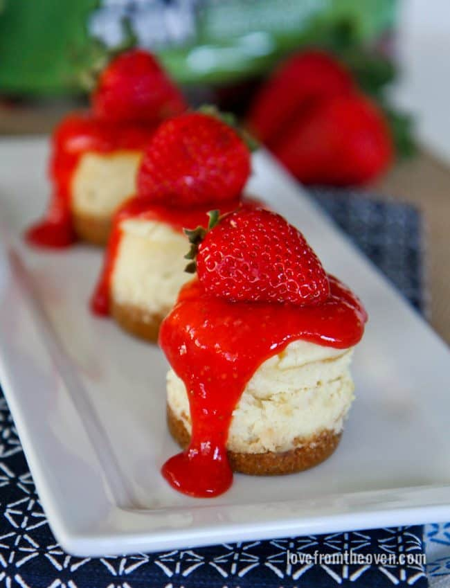 strawberry cheesecake cake mini strawberry cheesecakes from the oven 7740