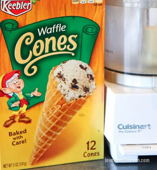 Waffle Cone Crust