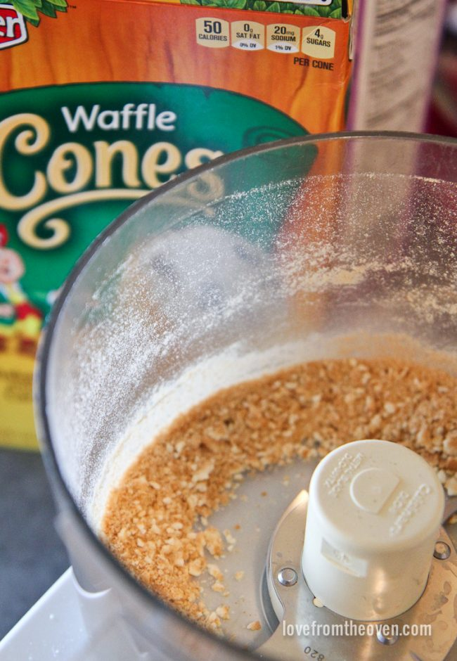 How To Make A Waffle Cone Crust