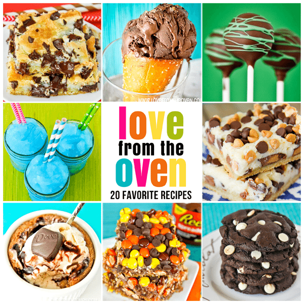 Love From The Oven's Favorite Recipes