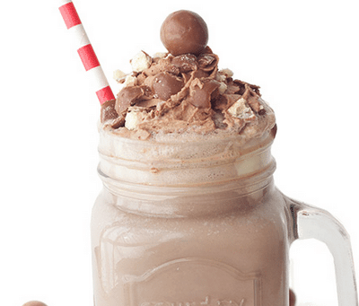 Chocolate Malt Shake