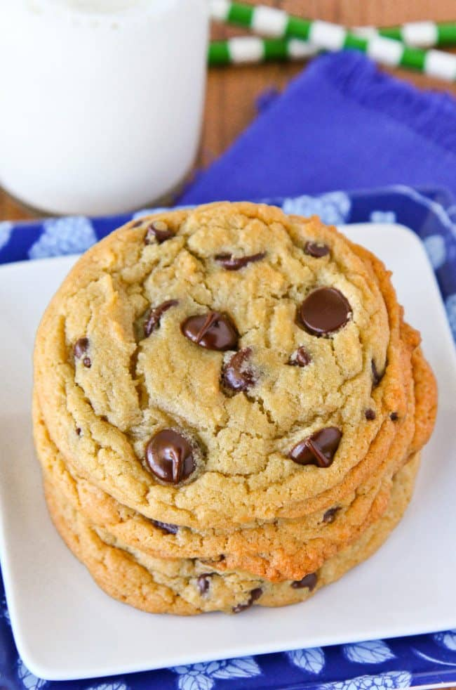 recipe for buttery chocolate chip cookies