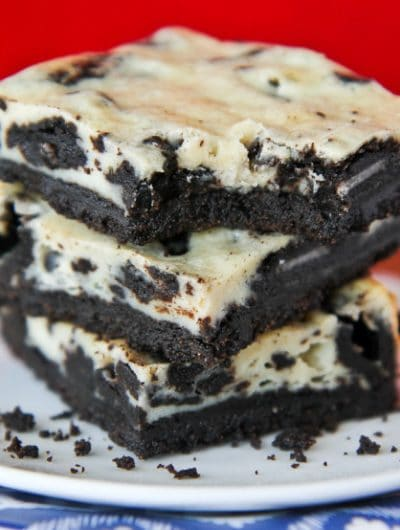 Easy Oreo Cheesecake Bars