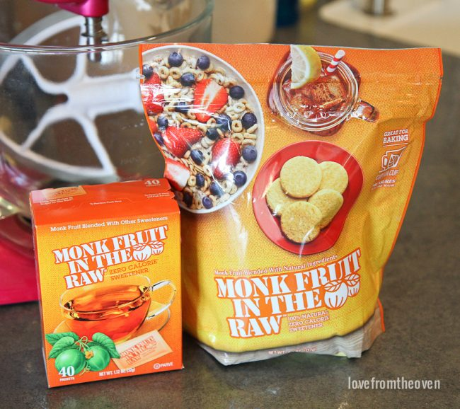 Baking With Monk Fruit In The Raw