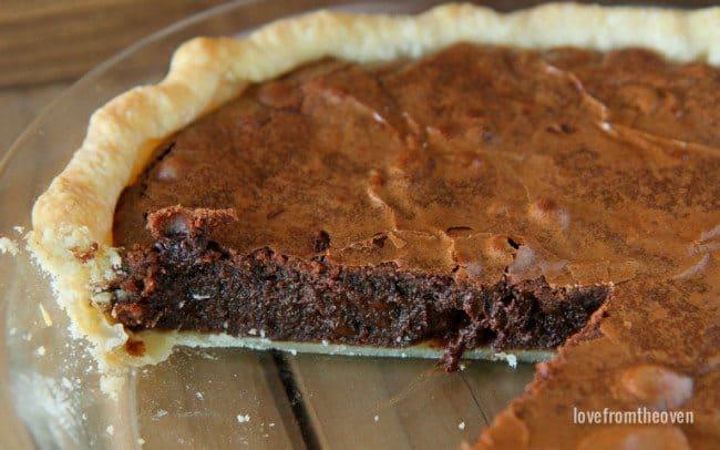 Easy Brownie Pie #chocolateforjoan-3