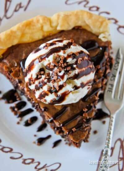 Easy Brownie Pie