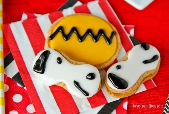 Snoopy Cookies for Peanuts Movie-2