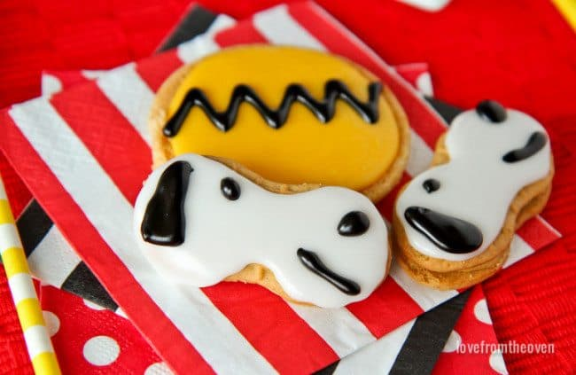 Snoopy Cookies For The Peanuts Movie