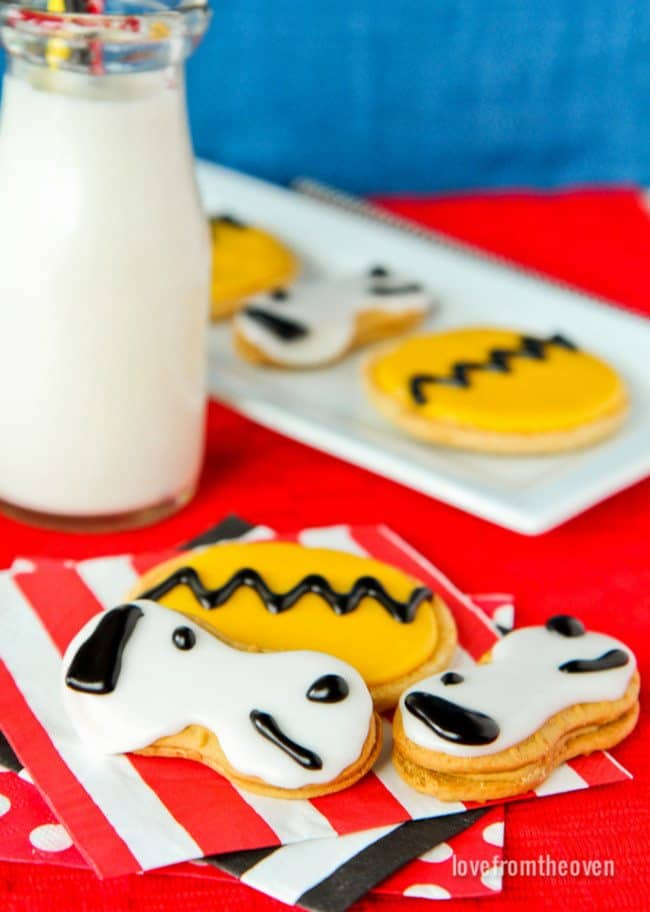Snoopy Cookies for Peanuts Movie-4