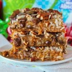 Caramel Magic Cookies Bars