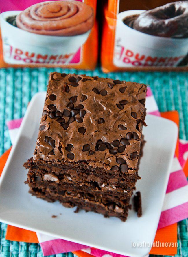 Chocolate Coffee Brownies