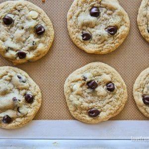 Dark And White Chocolate Chip Cookies