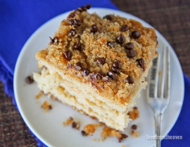 Easy Crumb Cake Recipe