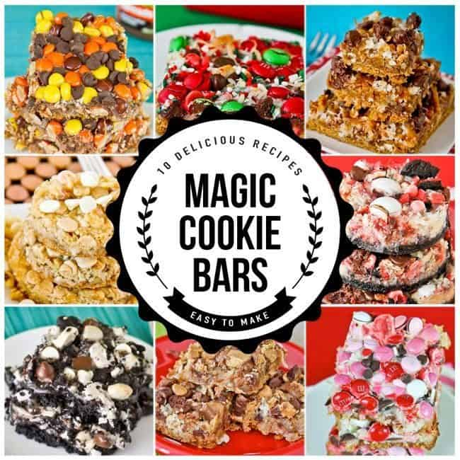 Magic Cookie Bar Recipes