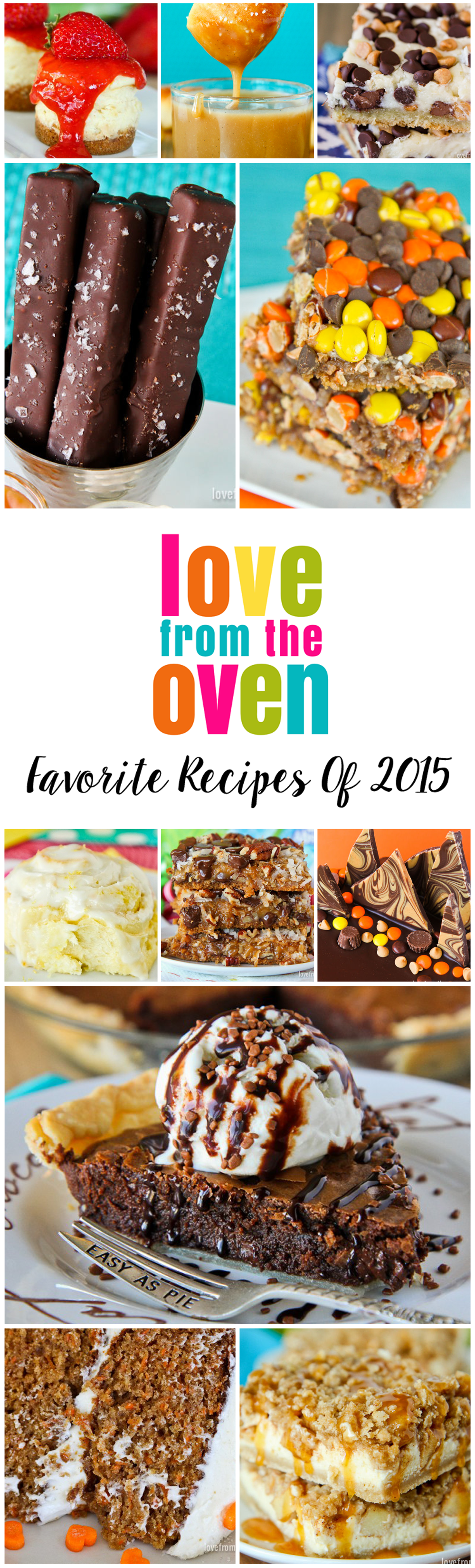 Best Recipes of 2015 at Love From The Oven
