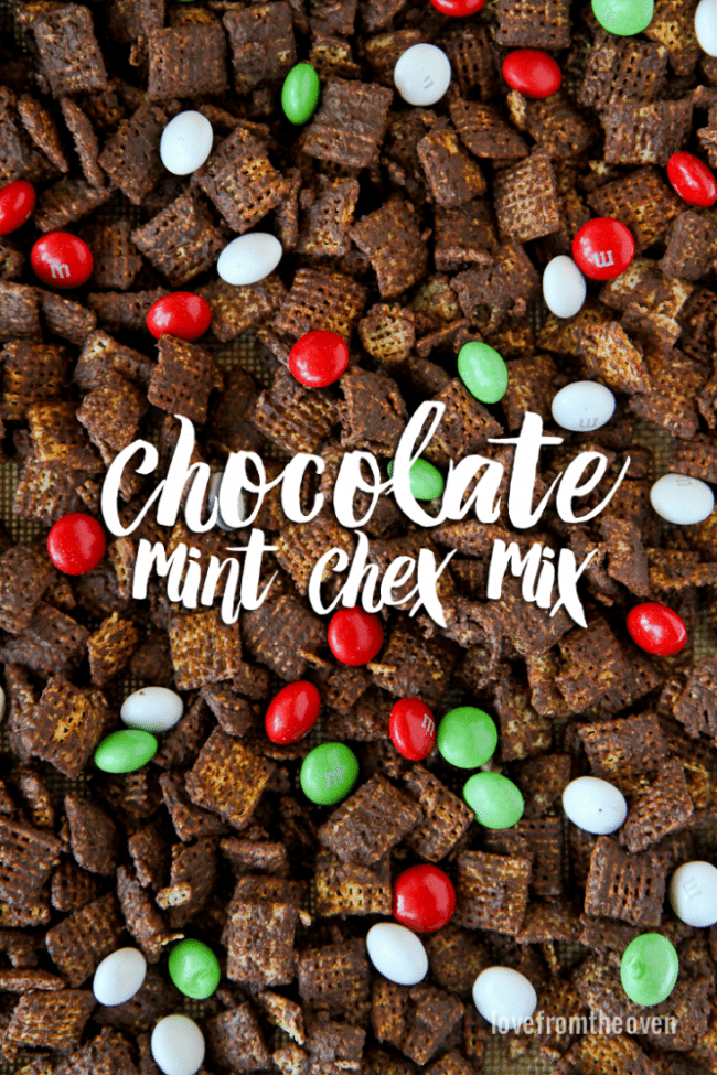 Chocolate Mint Chex Mix Recipe
