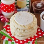 Holiday Sugar Cookies With Eggnog Frosting