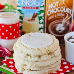 Egg Nog Cookies