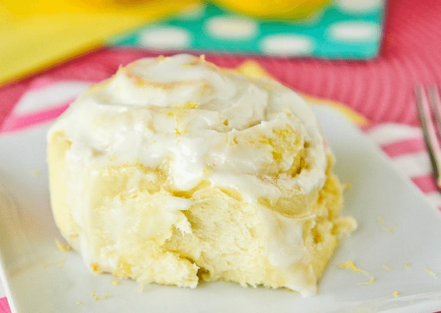 Lemon Rolls with a secret ingredient in the filling.