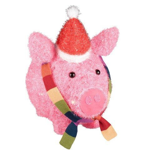 Light Up Christmas Pig