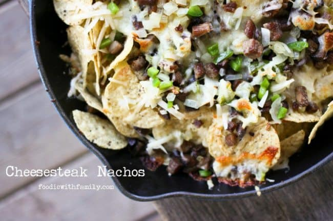 Cheesesteak Nachos