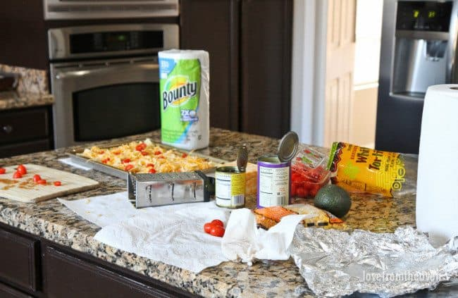 Cleaning Up Messes With Bounty